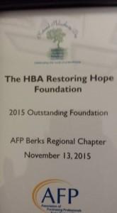 HBA Restoring Hope