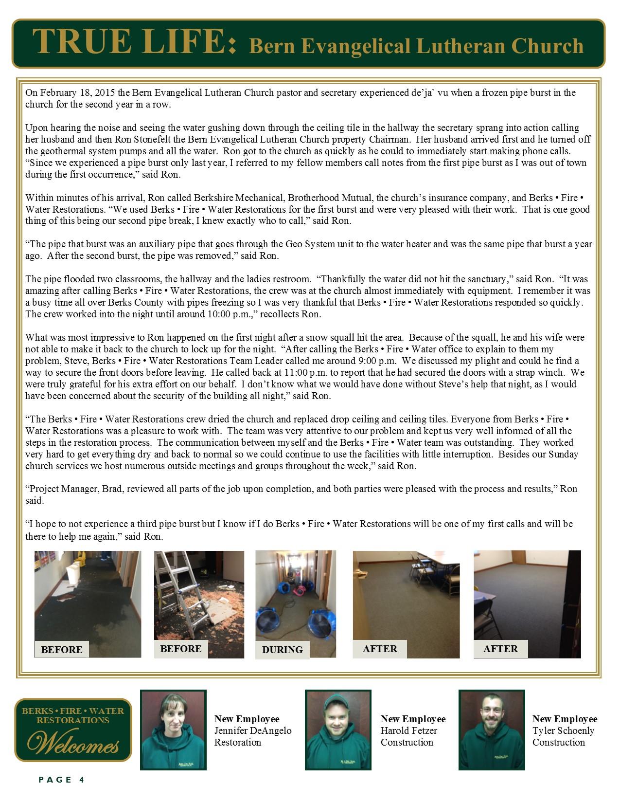 True Life January-February Newsletter