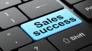 Sales-success-keyboard-button